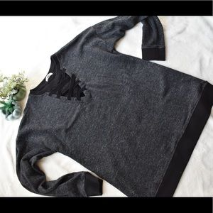 Maurices black/grey sweater